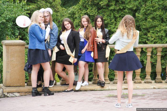 засветы выпускниц фото смотреть