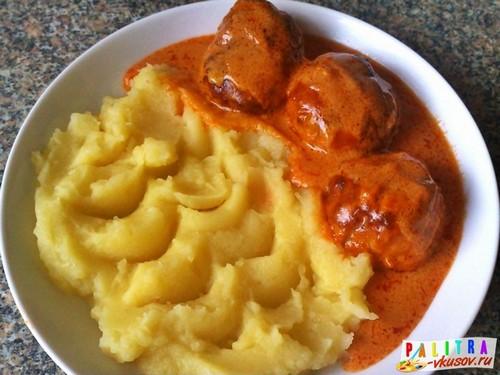 Фрикадельки с соусом рецепт с фото пошагово