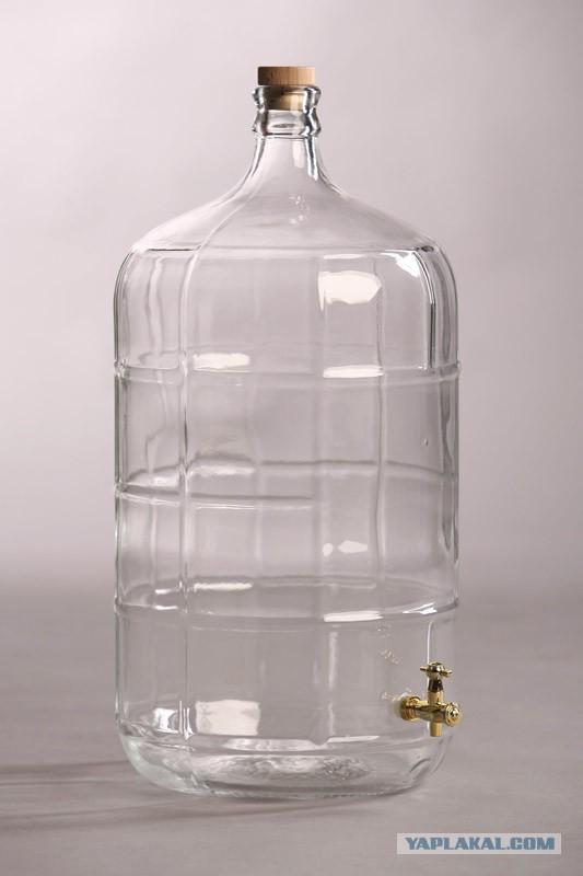 Стеклянная тара для питья вина