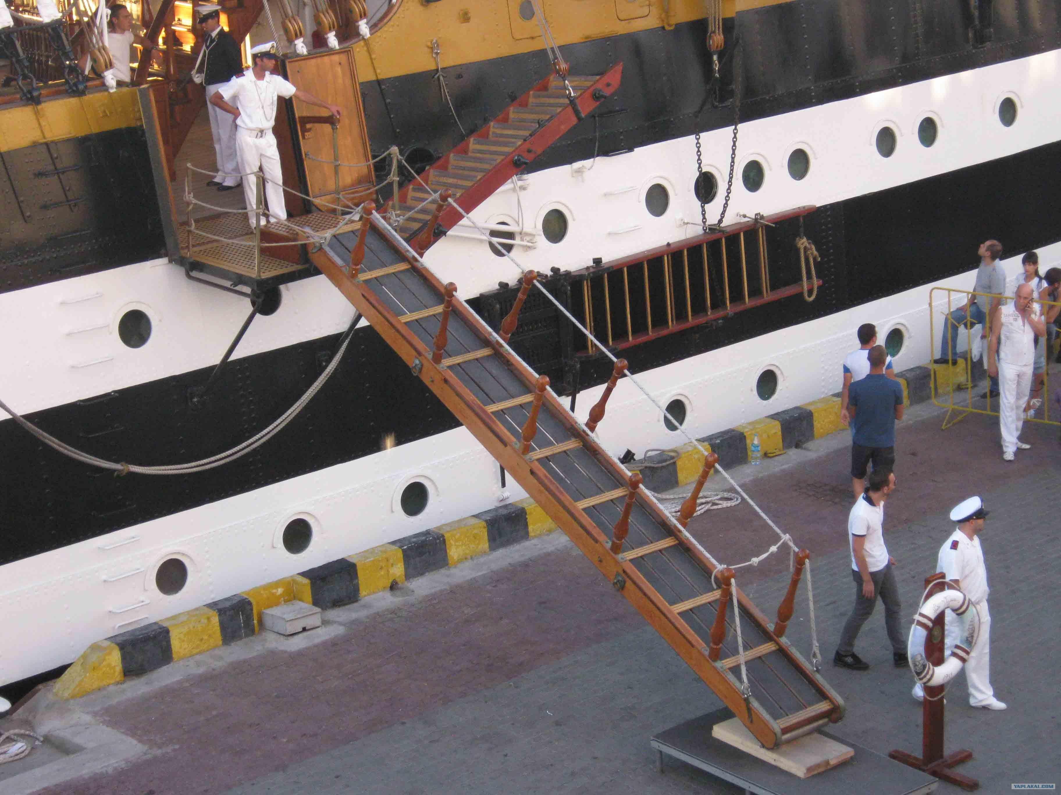 Картинки для детей трап на корабле