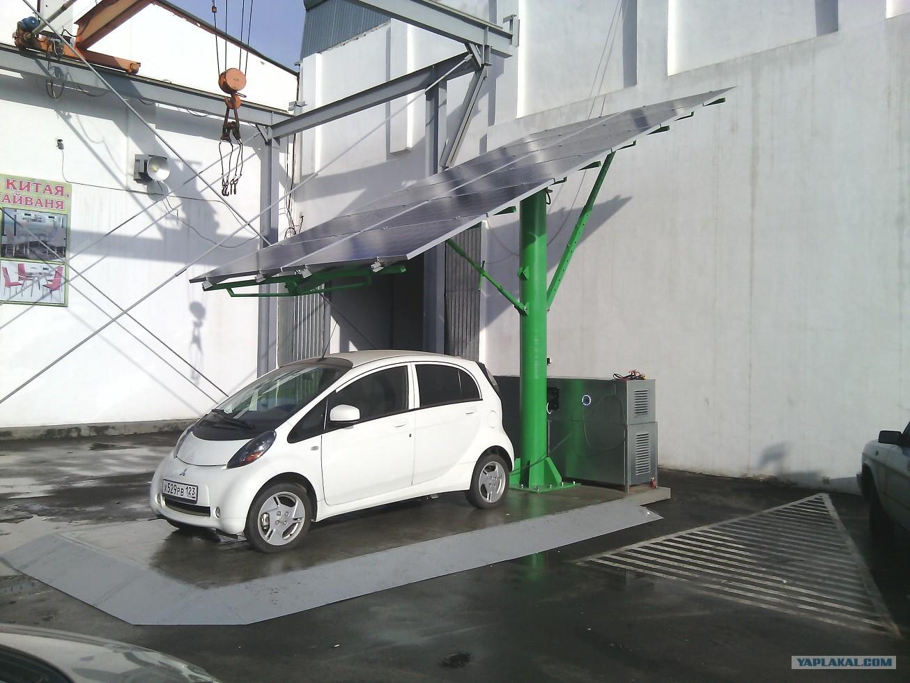 Сеть электрозаправок ТОКА — ECO CARS