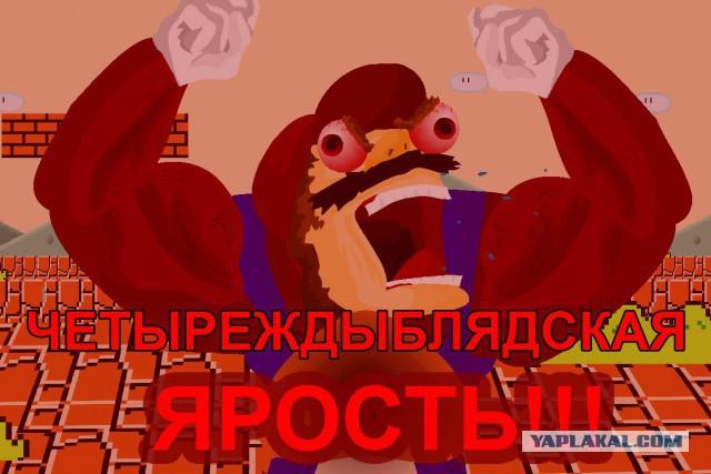 """Массовое побоище 30 хулиганов на 7 активистов у ТЦ """"Европейский"""" в Москве"""
