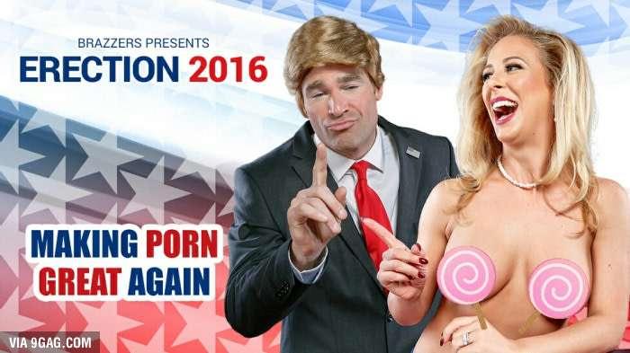На выборах порно