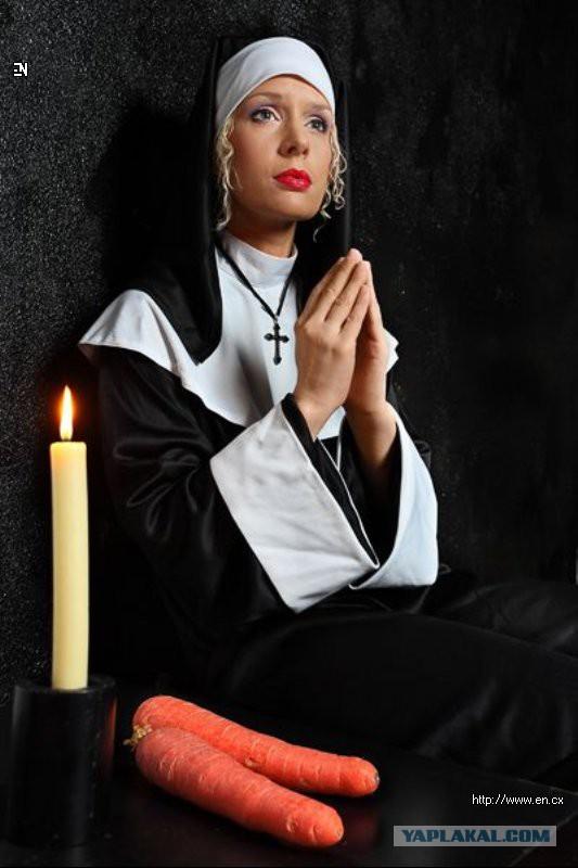 Изображением, картинки прикольные монашка