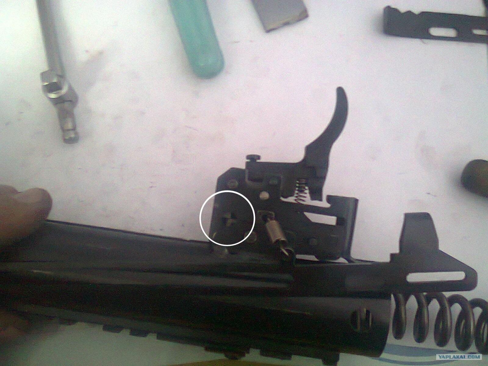 hatsan 125 замена пружины инструкция
