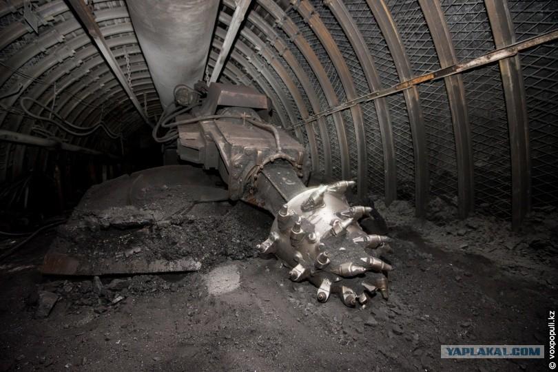 Картинка забой в шахте