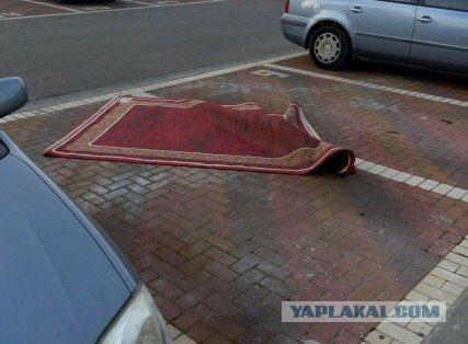 Алладин паркуется как мудак