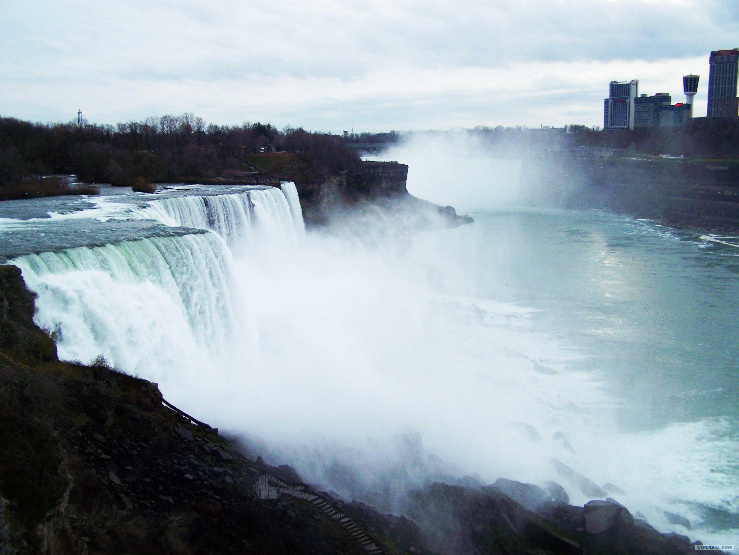 просто поднять ниагарский водопад фото со стороны сша описание
