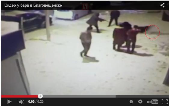 Расстрел мужчины у бара в Благовещенске