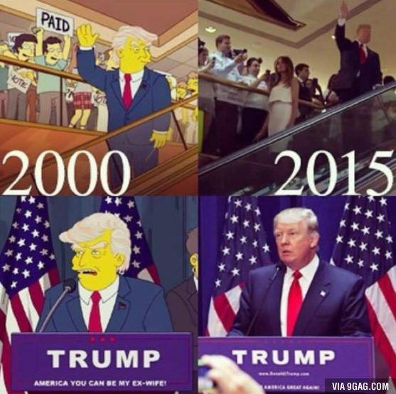 Юмор из соцсетей про выборы в США