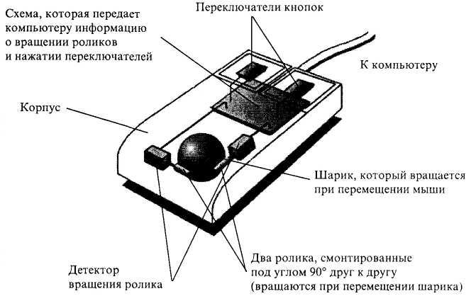 Мышка из шарика схема