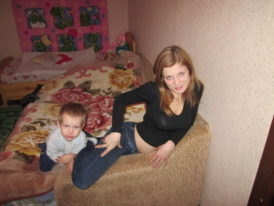 сын и молодая мама фото архив