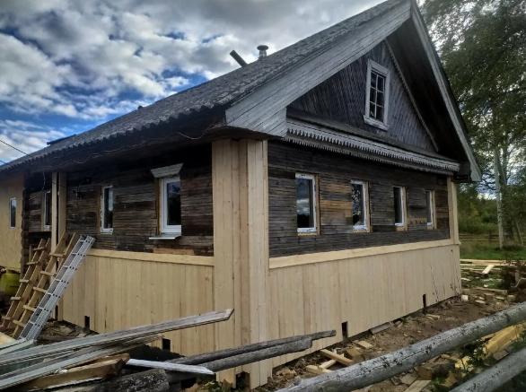 Стоит ли восстанавливать старый деревенский дом или проще и дешевле построить новый