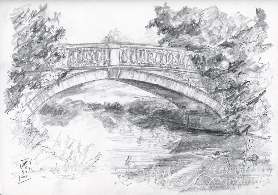 мосты картинки карандаш анне самые искренние