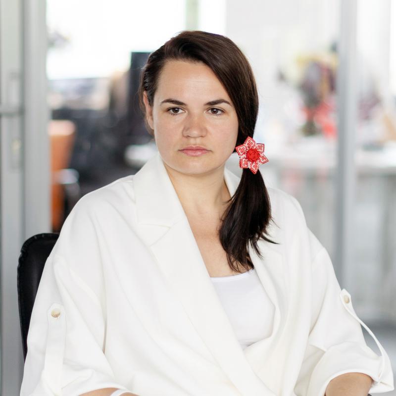Тихановская призвала отключить Белоруссию от SWIFT