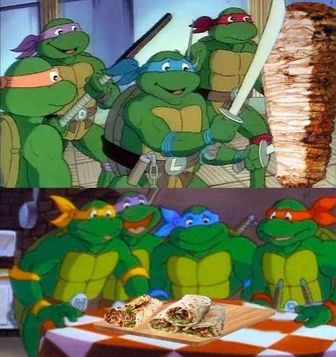 Смешные картинки из черепашек ниндзя, днем рождения для