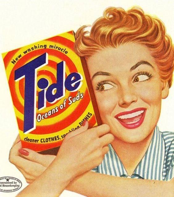 Реклама известных брендов в прошлом веке