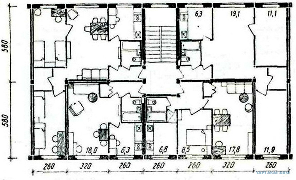 Хрущёвки серии 1-335. продолжение темы - о промышленном домо.