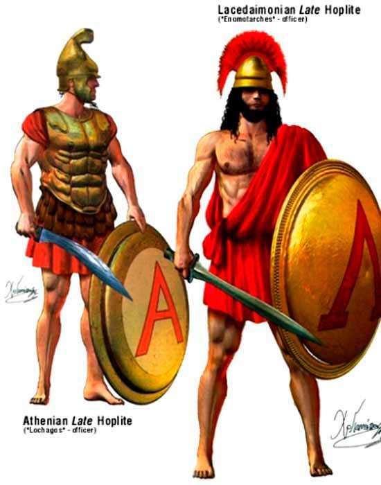 Сексуальный обряд воинов спартанцев