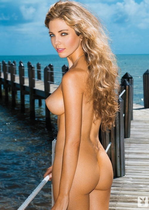Playboy Hottest Nudes Calendar Blacked 1