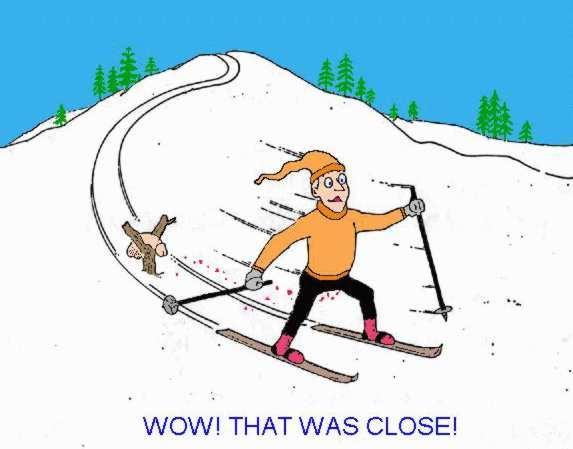 Пошагово, картинки смешные лыжников