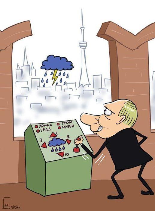 Картинки по запросу климатическое оружие карикатура