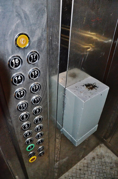 рассказ ебали на лифте