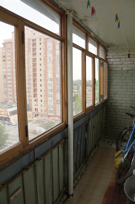 Ремонт однокомнатной квартиры от а до Я, 2 этап - лоджия.