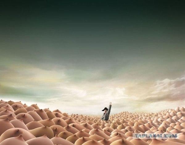 фото сисек на море