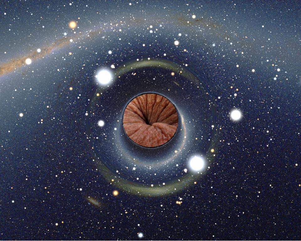 дыры в жопе невероятных размеров