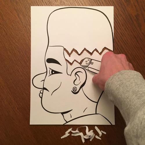 Жизненные бумажные арты