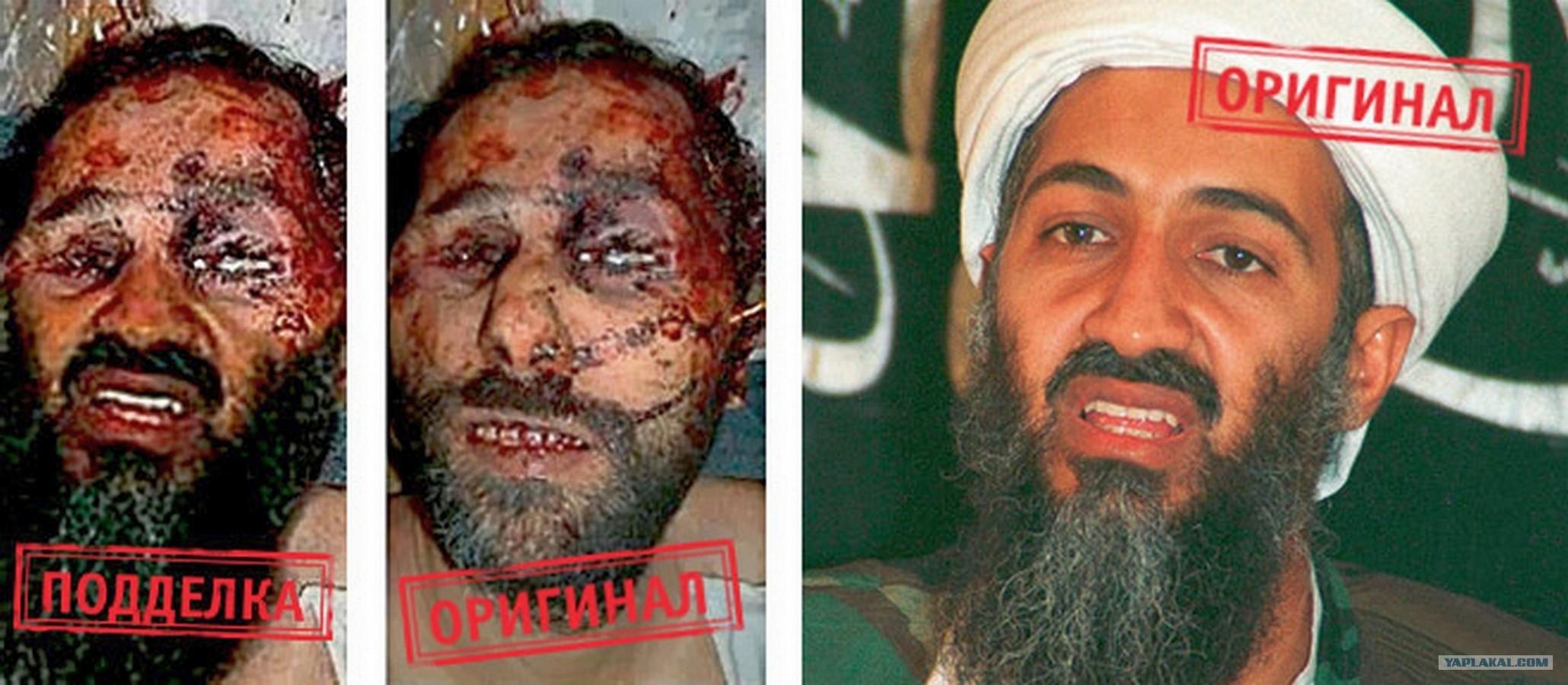 фото убитого усама бен ладен
