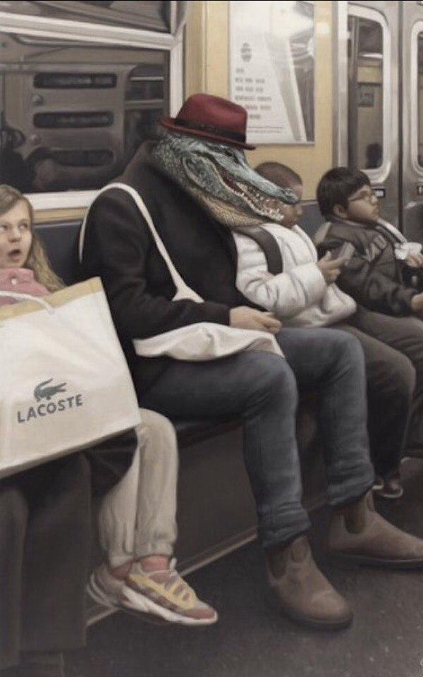 Модники и модницы из глубин метрополитена