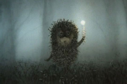 картинки из мультика ёжик в тумане