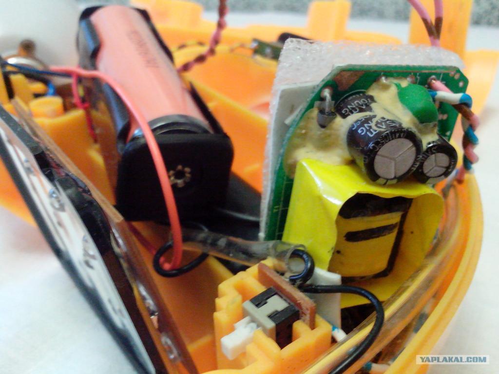 фото ремонта аккумуляторного фонарика много лет
