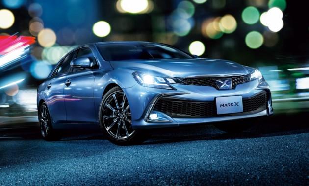 Toyota обновила седан Mark X