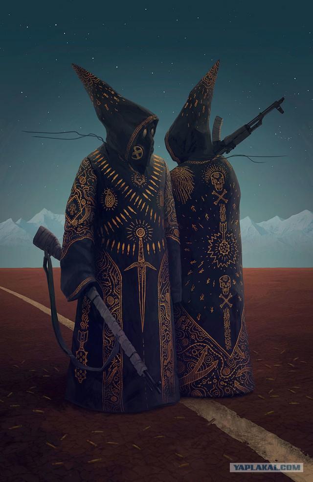 Арт работы Алексея Егорова.