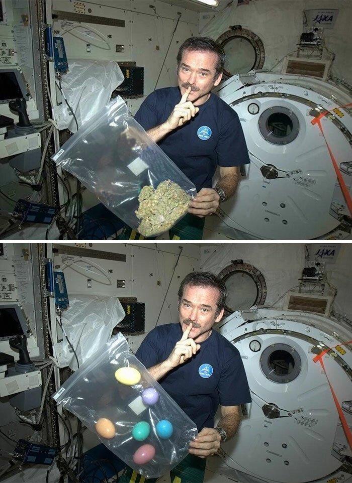 подают космонавт курит картинки было легко