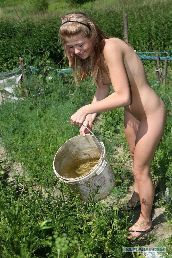 жена в огороде и на даче ню фото