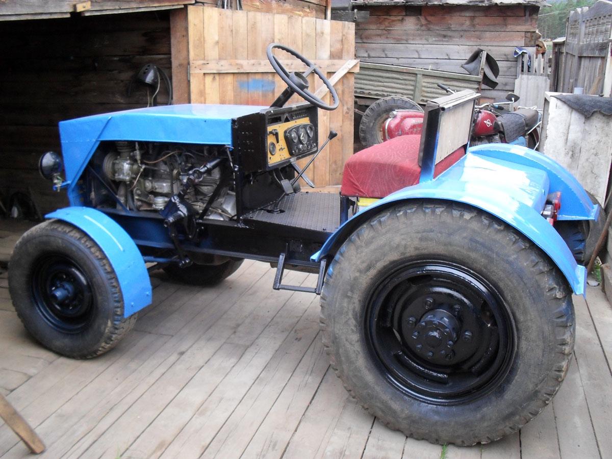 Трактор из крота своими руками