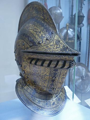 Рыцарская броня средневековья