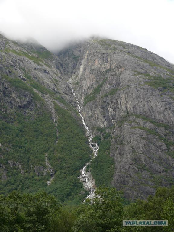 Норвегия. С фотоаппаратом и удочкой