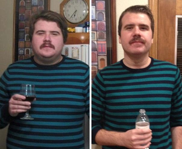 25 фото людей, которые завязали со спиртным