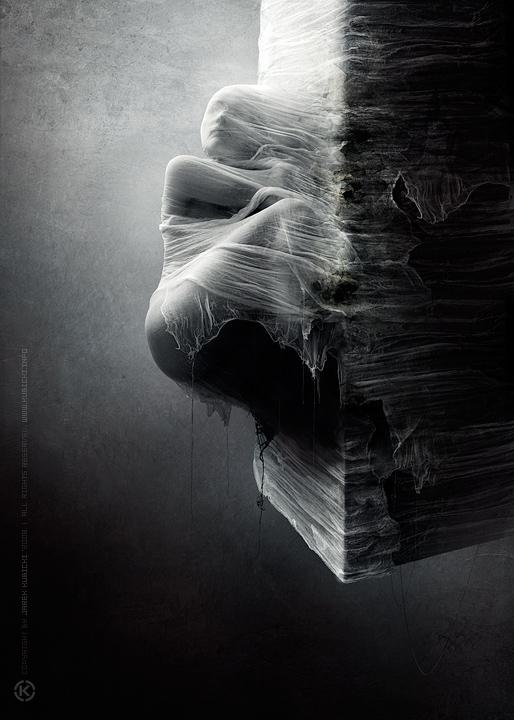 необычные чёрно-белые фото