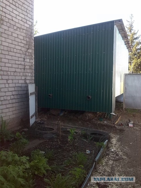Очень бюджетный гараж