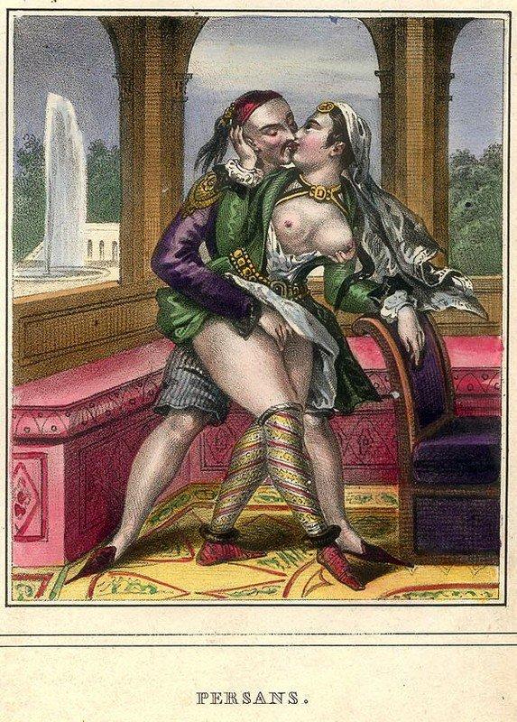 Порно во времена средневековья