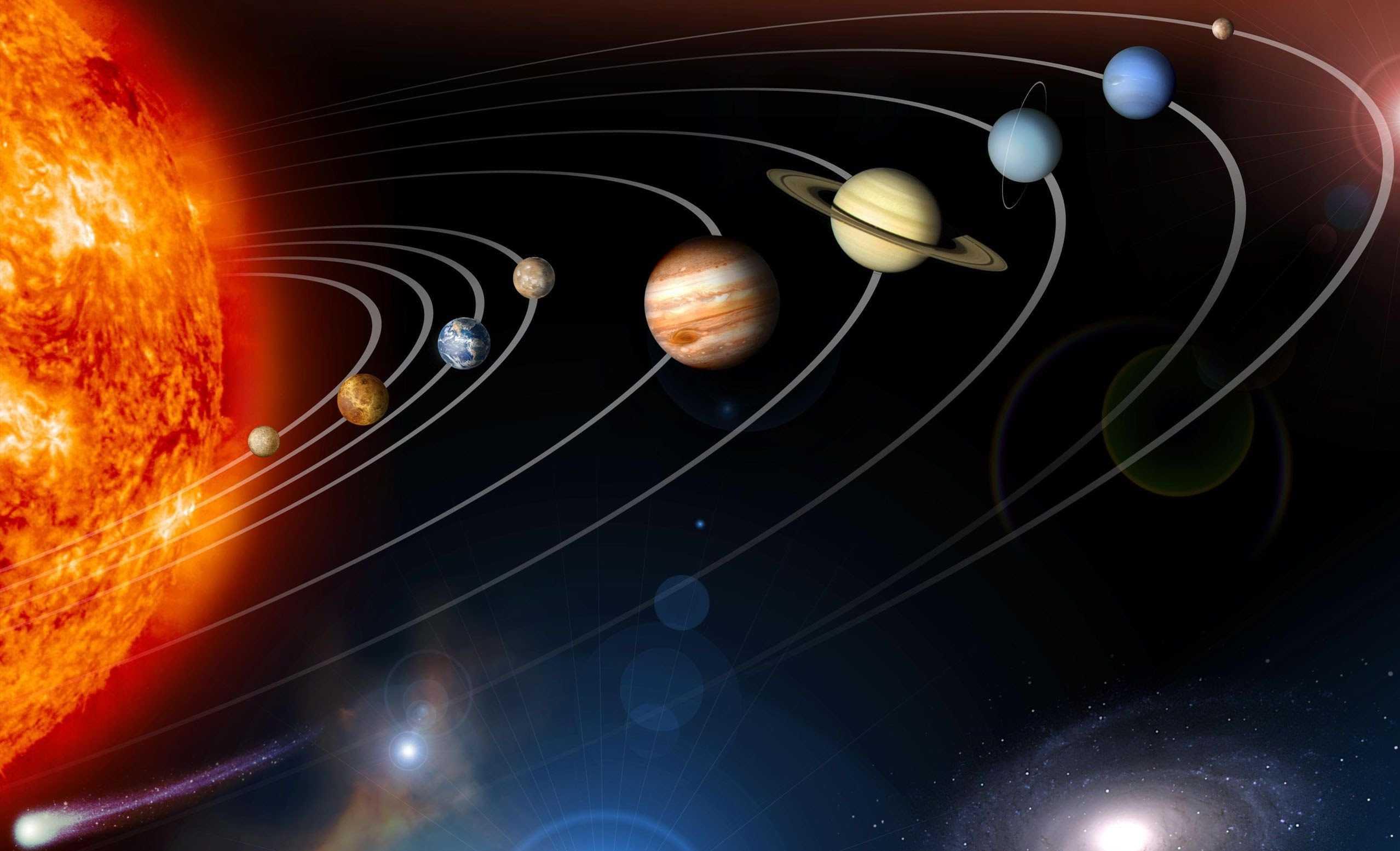 этих величин фото планет в космосе и названия полуостров