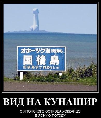 Япония гарантирует России не размещать ВС США на Курилах