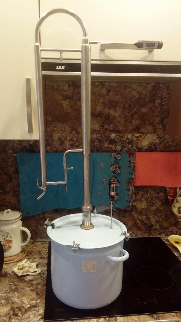 Делаем самогонный аппарат из кастрюли франшиза домашняя пивоварня