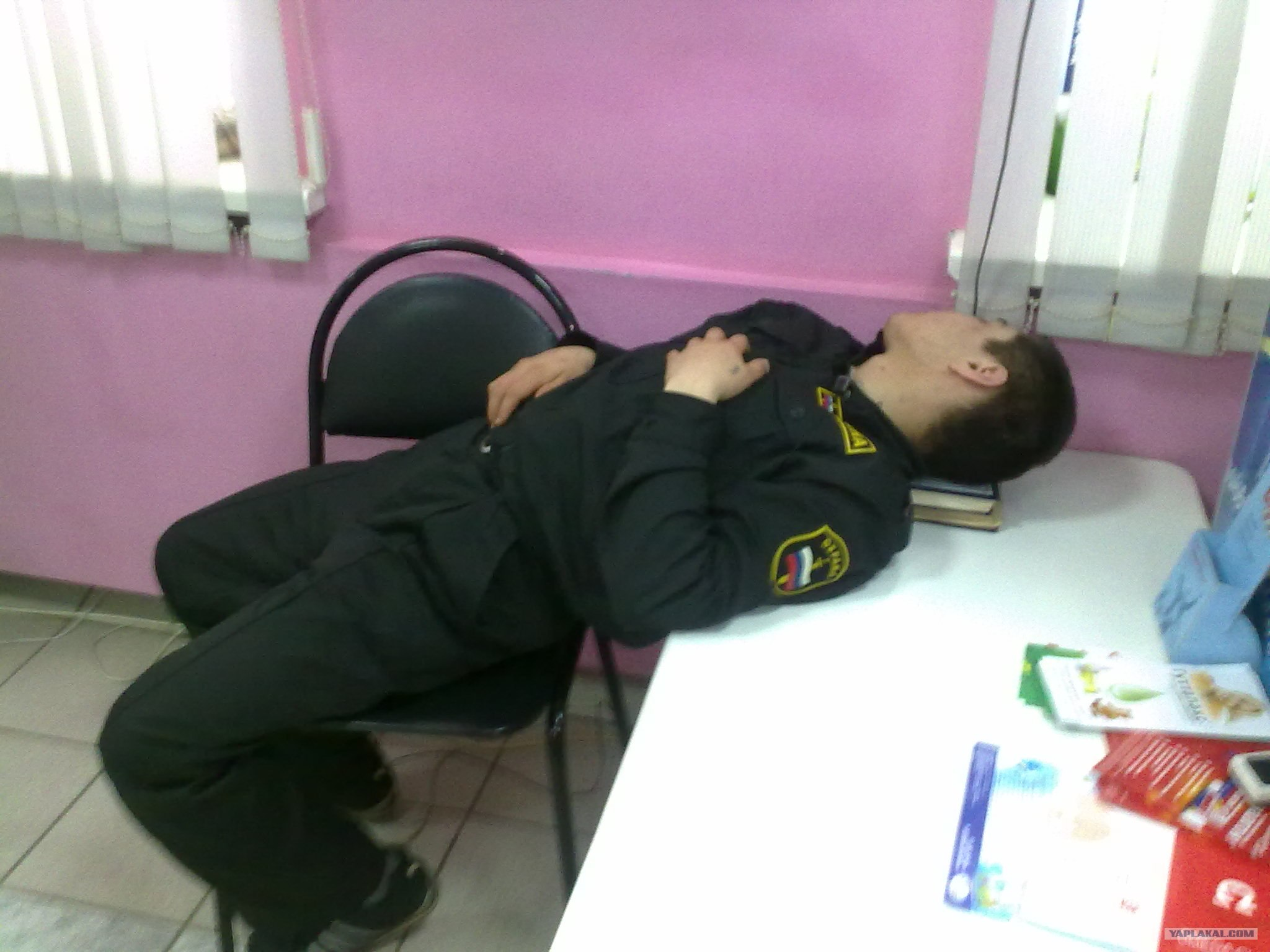 костюм охранник спит на посту фото гарвардского университета
